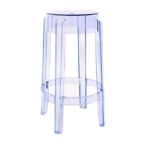 charles ghost 26 stool colour transparent light blue online kaufen bei woonio. Black Bedroom Furniture Sets. Home Design Ideas