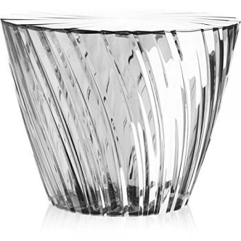 Kartell-8805B4-Beistelltisch-Sparkle-transparent-0