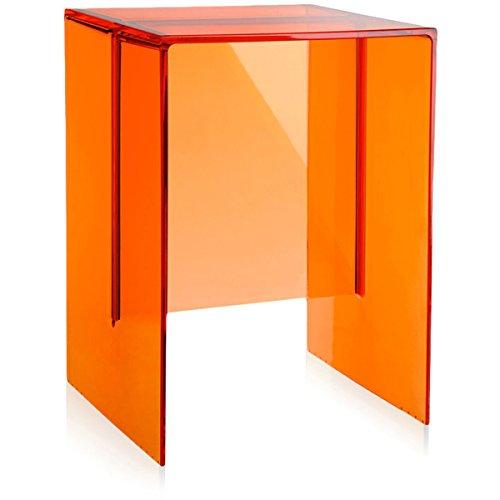 Kartell 9900at max beam side table stool orange by for Beistelltisch orange