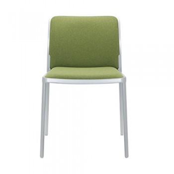 Kartell-Audrey-Soft-Stuhl-mit-Aluminiumgestell-grn-0