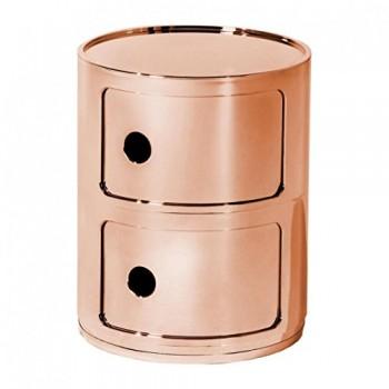 Kartell-Componibili-2-Container-kupfer-glnzend-0