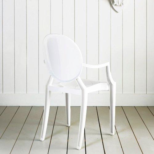 louis ghost matte glossy white online kaufen bei woonio. Black Bedroom Furniture Sets. Home Design Ideas