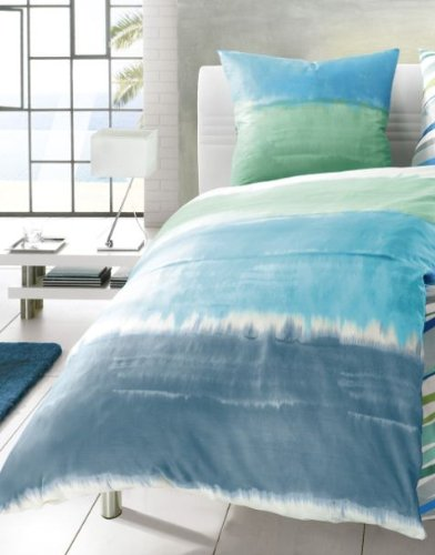kleine wolke 6174663952 bettw sche long beach 135 x 200 cm pazifik online kaufen bei woonio. Black Bedroom Furniture Sets. Home Design Ideas