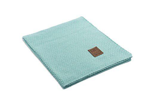 Knit-Factory-091108-Strickdecke-Plaid-Jesse-130-x-160-cm-mint-0