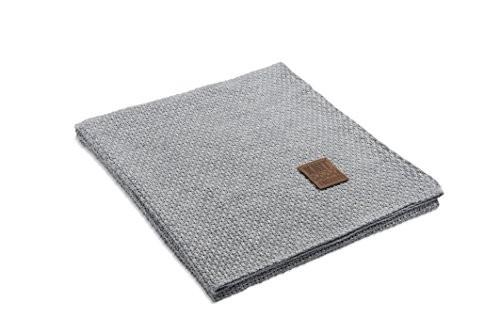 Knit-Factory-091111-Strickdecke-Plaid-Jesse-130-x-160-cm-grau-0