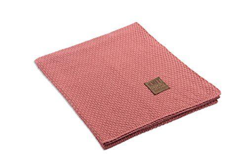 Knit-Factory-091131-Strickdecke-Plaid-Jesse-130-x-160-cm-coral-0