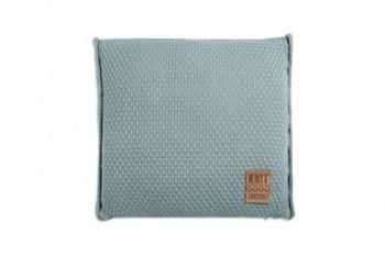 Knit-Factory-091209-Dekokissen-Strickkissen-Jesse-mit-Fllung-50-x-50-cm-stone-grn-0
