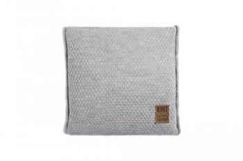 Knit-Factory-091211-Dekokissen-Strickkissen-Jesse-mit-Fllung-50-x-50-cm-grau-0