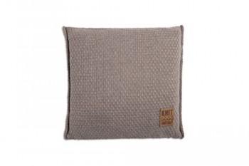 Knit-Factory-091229-Dekokissen-Strickkissen-Jesse-mit-Fllung-50-x-50-cm-taupe-0