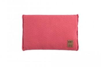 Knit-Factory-091330-Dekokissen-Strickkissen-Jesse-mit-Fllung-60-x-40-cm-framboise-0