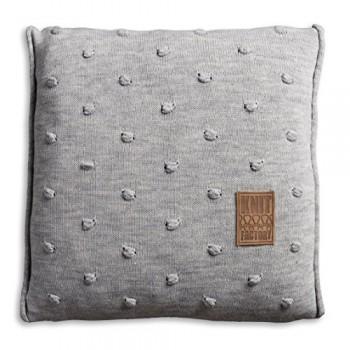 Knit-Factory-1071211-Dekokissen-Strickkissen-Noa-mit-Fllung-50-x-50-cm-grau-0