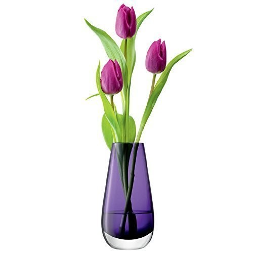LSA-Blumenvase-Blumenmuster-In-Violett-Elegant-Home-Dcor-0