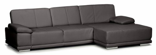 Lederecke-Corianne3er-Longchair282x80x162-cmLeder-Punch-schwarz-Poroflex-softy-schwarz-0