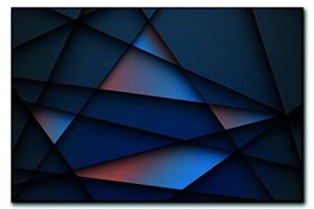 Leinwandbild-XXL-Moderne-Metall-Struktur-abstrakt-echter-Kunstdruck-120x80cm-90x60cm-60x40cm-Gre-40x60cm-0