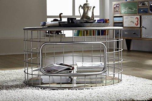 massivm bel altholz eisen massiv holz couchtisch 75x75 industrial stil massivholz m bel massiv. Black Bedroom Furniture Sets. Home Design Ideas