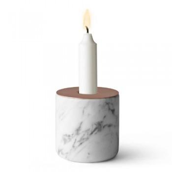 Menu-5611059-Kerzenstnder-Chunk-of-Marmor-L-Hhe-9-cm-Durchmesser-8-cm-kupfer-0
