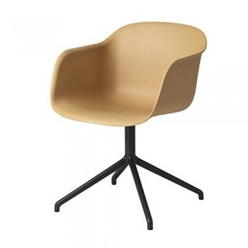 Muuto-Fiber-Chair-Drehstuhl-natur-Gestell-schwarz-0