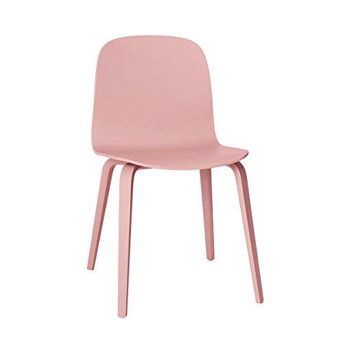 muuto visu chair by mika tolvanen rose holzgestell stuhl rosa 11417 online kaufen bei woonio. Black Bedroom Furniture Sets. Home Design Ideas