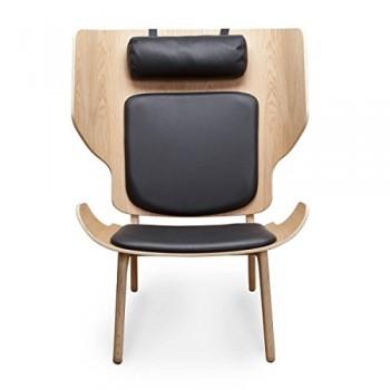 NORR-11-Mammouth-Slim-Sessel-Leder-schwarz-Premium-Leder-0