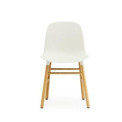 normann form stuhl gestell eiche wei gestell eiche natur. Black Bedroom Furniture Sets. Home Design Ideas