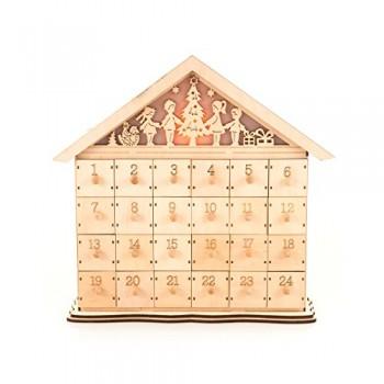 PAJOMA-14743-Adventskalender-Bethlehem-zum-Befllen-Holz-L-39-x-B-115-x-H-37-cm-0