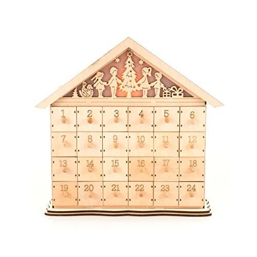 pajoma 14743 adventskalender bethlehem zum bef llen holz l 39 x b 11 5 x h 37 cm online. Black Bedroom Furniture Sets. Home Design Ideas