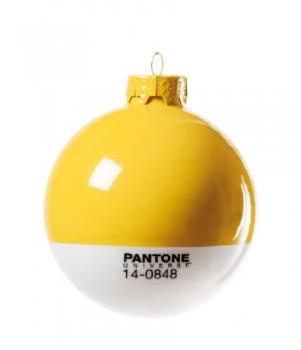 PANTONE-Weihnachtskugel-Gelb-14-0848-Mimosa-0