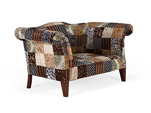 patchwork sofa 2 sitzer florese online kaufen bei woonio. Black Bedroom Furniture Sets. Home Design Ideas