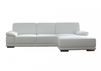 Polsterecke-Corianne3er-Bett-Longchair282x80x162-cmKunstleder-Bison-pure-white-0