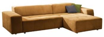 Polsterecke-Futoro3er-Bett-Longchair300x71x178-cmSolo-gelb-0