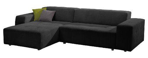 Polsterecke-FutoroLongchair-3er-Bett300x71x178-cmSolo-schwarz-0
