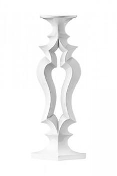Premier-Housewares-Kerzenstnder-Venezianerkette-50-cm-x-19-cm-x-12-cm-schwarz-Schwarz-wei-0