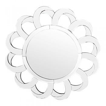 Premier-Housewares-Wandspiegel-Petal-74-x-74-x-5-cm-silber-0