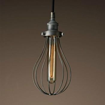 Purelume-Retro-Teardrop-Industrial-Hngelampe-Deckenleuchte-inkl-40W-Nostalgie-T18-Tube-Leuchtmittel-0