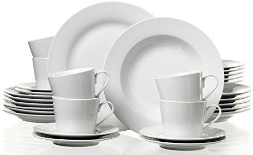 ritzenhoff breker bianco 097252 crockery set 30 pieces online kaufen bei woonio. Black Bedroom Furniture Sets. Home Design Ideas