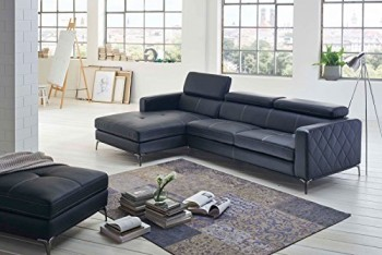 SAM-Design-Schlafsofa-Dario-in-anthrazit-links-mit-Hocker-0