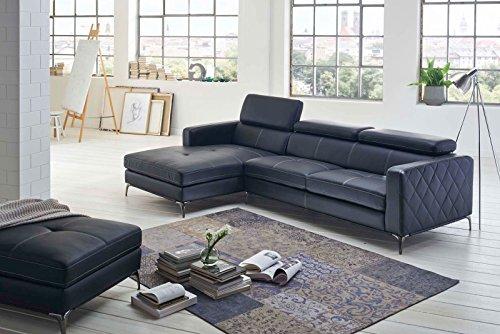 sam design schlafsofa dario in anthrazit links online. Black Bedroom Furniture Sets. Home Design Ideas