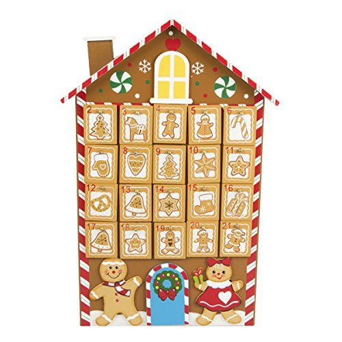 sass belle lebkuchen gingerbread mann holz wooden wiederverwendbar reusable adventskalender. Black Bedroom Furniture Sets. Home Design Ideas