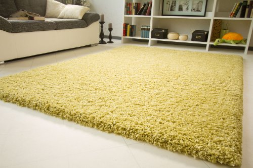 shaggy hochflor teppich funny luxus sofort lieferbar gr n gr e 240x340 cm online kaufen. Black Bedroom Furniture Sets. Home Design Ideas