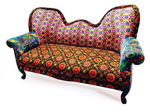 Surprising Sofa Puna Paisley Design Massivholz Samt Online Kaufen Alphanode Cool Chair Designs And Ideas Alphanodeonline