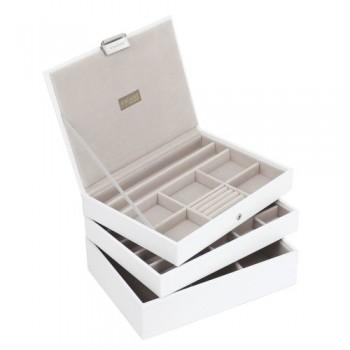 Stackers-Set-mit-3-Paletten-classic-size-Neu-fr-2013-Stacker-Schmuck-Box-3-Stck-wei-Set-Of-3-Stacker-13-Dsicount-0