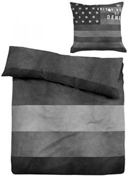 TOM-TAILOR-49467831001-Linon-Bettwsche-Nos-Jeans-135-x-200-cm-und-80-x-80-cm-nach-ko-Tex-Standard-100-stone-0