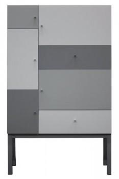 Tenzo-1970-807-Color-Designer-Schrank-162-x-100-x-36-cm-grau-mix-lackiert-matt-0