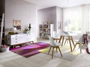 Tenzo-2181-001-Bess-Designer-Esstisch-rund-wei-Tischplatte-MDF-lackiert-matt-Untergestell-Eiche-massiv-Hhe-75-cm-Durchmesser-110-cm-0-0