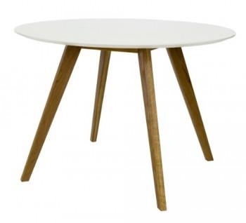 Tenzo-2181-001-Bess-Designer-Esstisch-rund-wei-Tischplatte-MDF-lackiert-matt-Untergestell-Eiche-massiv-Hhe-75-cm-Durchmesser-110-cm-0