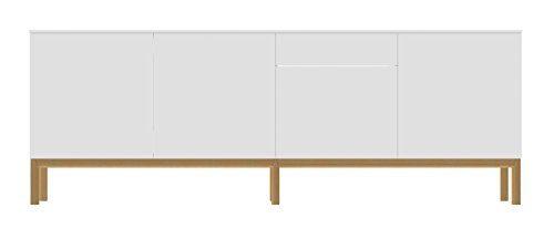 Tenzo-2285-001-Patch-Designer-Sideboard-lackiert-Matt-Untergestell-massiv-85-x-2385-x-47-cm-wei-eiche-0