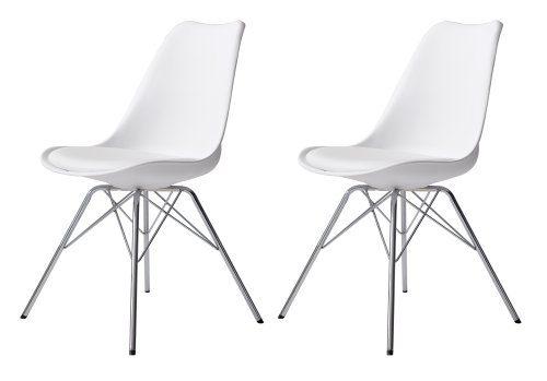 Tenzo-3313-801-Tequila-2-er-Set-Designer-Esszimmerstuhl-Porgy-Kunststoffschale-mit-Sitzkissen-in-Lederoptik-Untergestell-verchromt-825-x-485-x-54-cm-H-x-B-x-T-wei-chrom-0