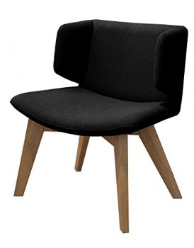 Tenzo-9450-224-Tequila-Designer-Sessel-Sitzflche-mit-Stoffbezug-74-x-68-x-50-cm-schwarz-0
