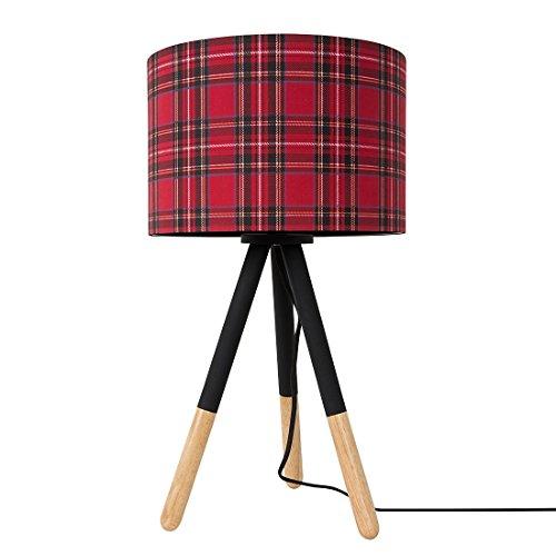 tischleuchte highland schottisch rot online kaufen bei woonio. Black Bedroom Furniture Sets. Home Design Ideas