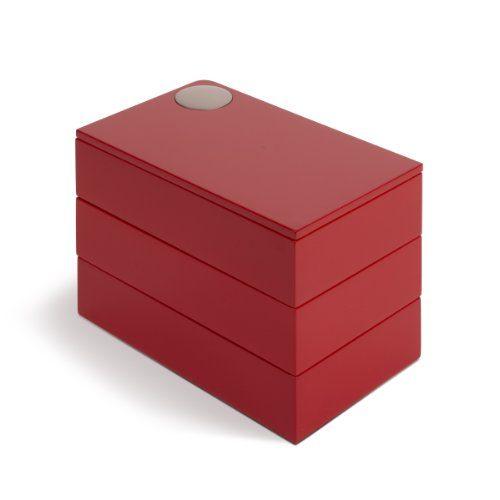 Umbra-308712-505-Spindle-Schmuckbox-rot-0